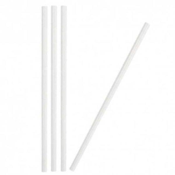 Cannucce biodegradabili di dimensioni: 21cm x 6mm di diametro.