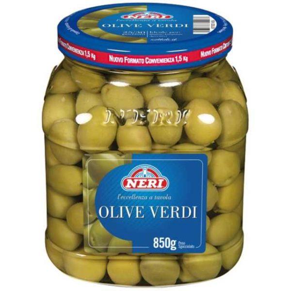 Olive verdi in vasetto