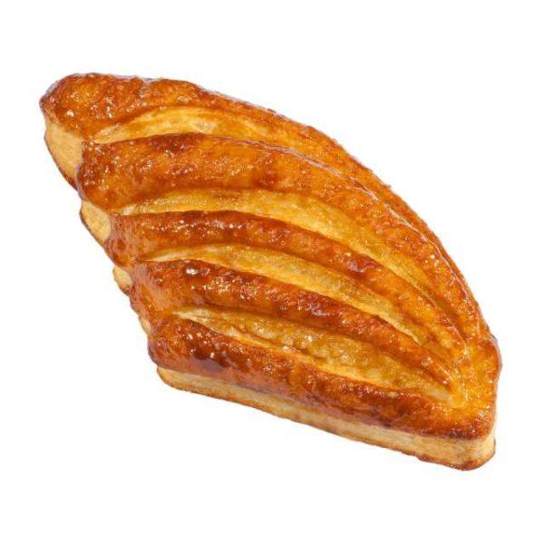 Ha una caratteristica forma simile ad un'ala d'angelo decorata con incisioni convergenti che ne migliorano l'aspetto. Contiene una morbida e vellutata farcitura di crema catalana che ne esalta tutte le caratteristiche.